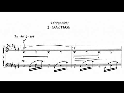 Lili Boulanger: Cortège \\ pianist Sophia Subbayya Vastek (score follower)