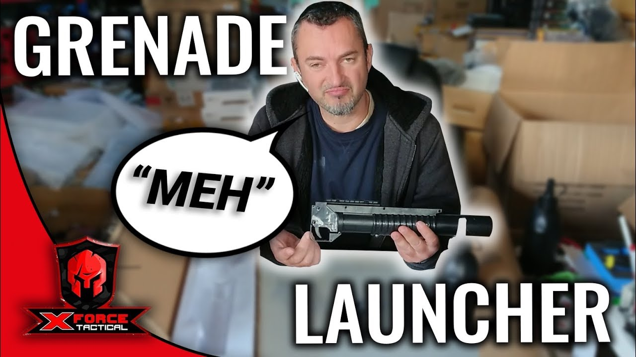 Unboxing The M203 Grenade Launcher Gel Blaster - X-Force Tactical