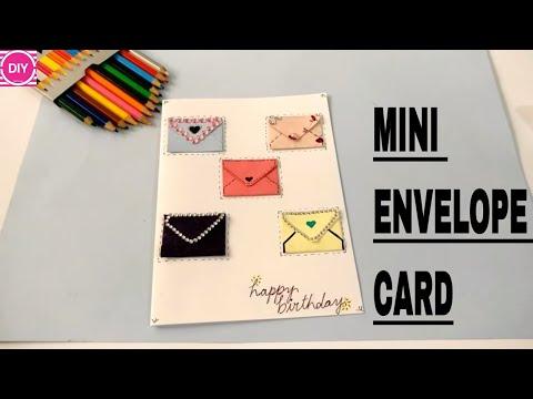 DIY Mini Envelope Card   Mini Envelopes for Scrapbook