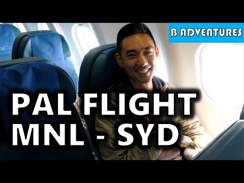 Philippine Airlines Flight PR211 Manila to Sydney, PH S4, Vlog 98