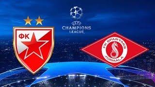 Crvena Zvezda Spartaks UZivo