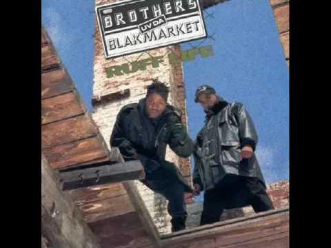 Brothers UV Da Blakmarket - Ruff Neck Style (1992)
