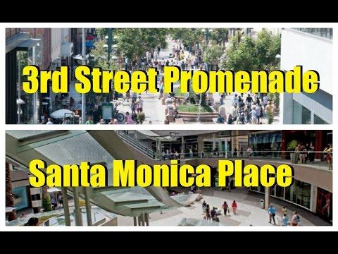 Sights and Sounds: Third Street Promenade & Santa Monica Place