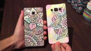 DIY: ¡Funda para el celular con zentangle art! 📱❤️