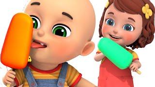 Rainbow Ice Cream - Colors Song | Toy Ice cream Truck | Jugnu Kids  Nursery Rhymes & Kids Songs