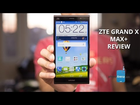 ZTE Grand X Max+ Review