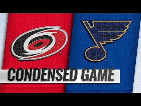 11/06/18 Condensed Game: Hurricanes @ Blues