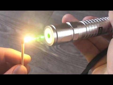 4x 100mW Burning Green Laser  Unboxing & Burning Stuff