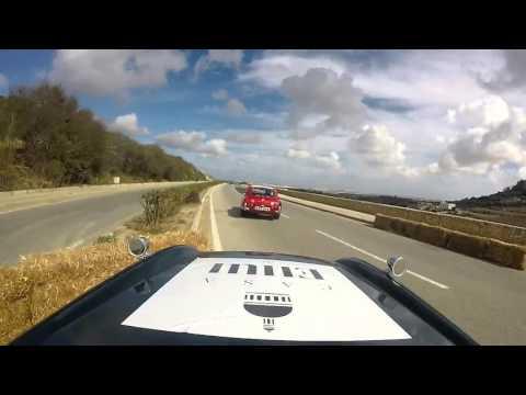 Classic car race Mdina Gran Prix