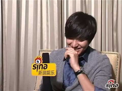 111205 Lee Min Ho interview with Sina