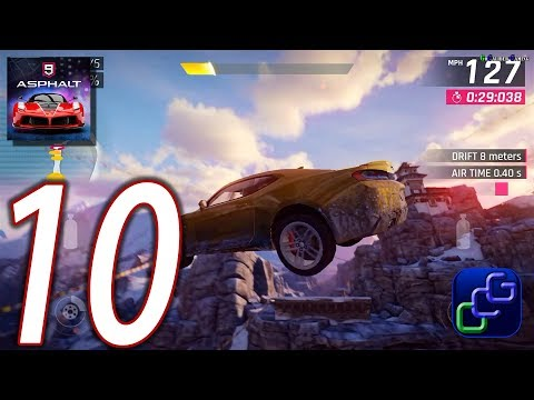 ASPHALT 9 Legend Android iOS Walkthrough - Part 10 - Career: Chapter 1: Pure Muscle Car