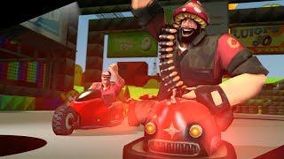 Team Fortress Kart! Офигенный Режим игры!