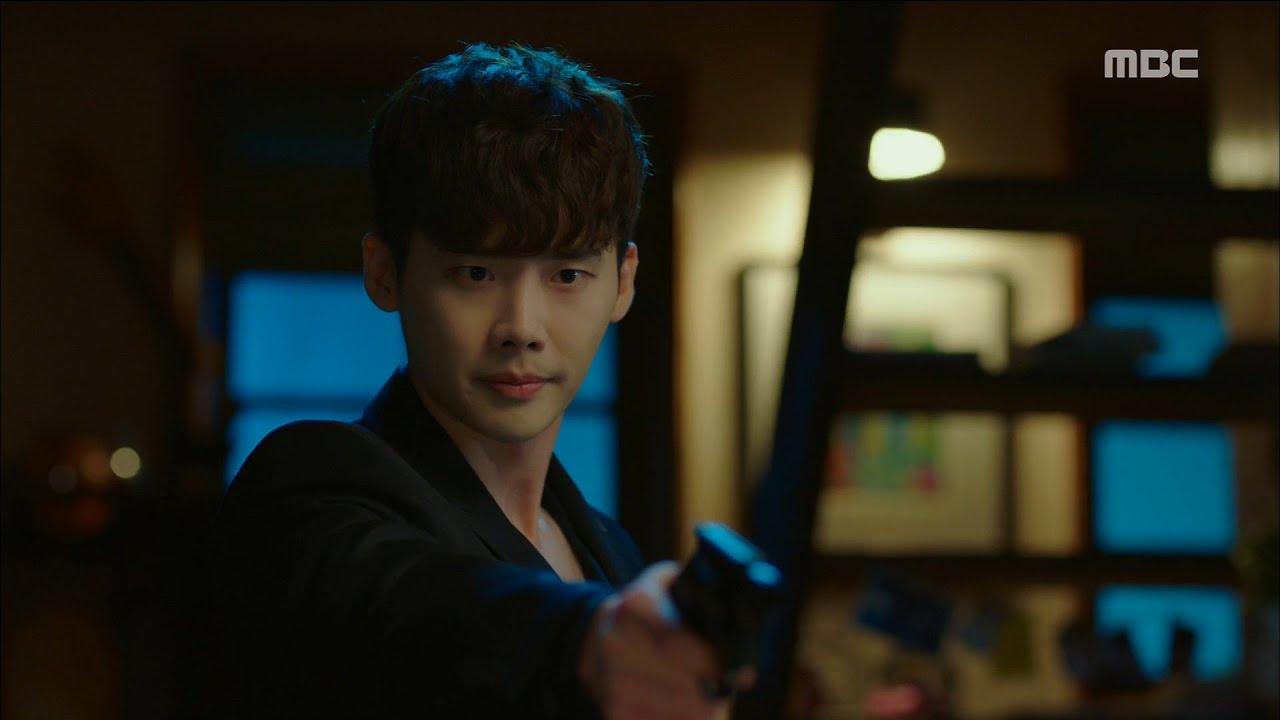 [W] ep.05 Lee Jong-suk had a scuffle with Kim Eui-sung 20160803 - YouTube