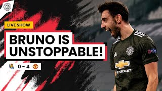 Bruno Fernandes Is Unstoppable! | Real Sociedad 0-4 Man United | Match Review