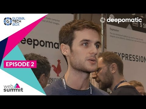 Easy-to-deploy solutions with deepomatic / Web Summit 2017
