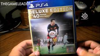 FIFA 16 [Deluxe Edition] (PS4) - Unboxing