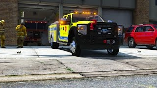 Rescue Mod V - Day 8 - Ford F450 Firetruck