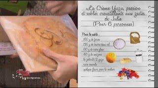 Recette : Le crème de Yuzu  de Julie - Les carnets de Julie - La route des agrumes