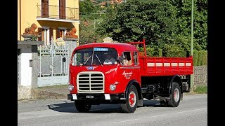 Panico si ferma il vecchio camion OM SUPERORIONE  .... per fortuna tutto finisce bene  ...