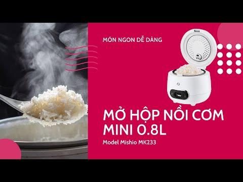 Nồi cơm điện cao cấp Mishio MK233 0.8 lít