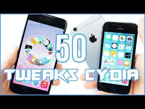 Top 50 : Meilleurs Tweaks Cydia GRATUITS pour iOS / iPhone, iPod touch