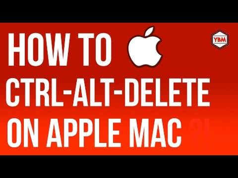 HOW TO CTRL ALT DELETE on [Apple] Mac [OSX] Step by step [Tutorial]