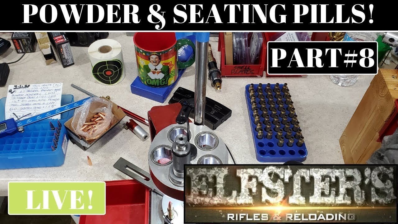 LIVE PART8! DROPPING POWDER & SEATING PILLS BABY! The end...