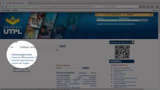 Uso del Catálogo de Acceso Público Online