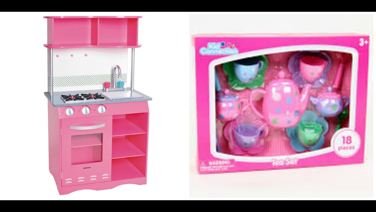 kenmore kitchen playset. my first kenmore kitchen \u0026 having a tea party! playset i