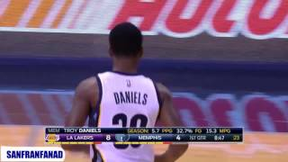 Troy Daniels vs Lakers (03/12/2016) - 31 Pts, 4 Assists, 12-23 FGM, 6-12 Threes, Off The Bench!