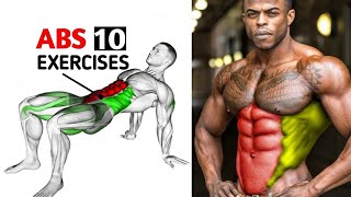 10 Best Abs Exercises - Full 6 Pack Routine