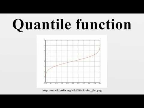 Quantile function