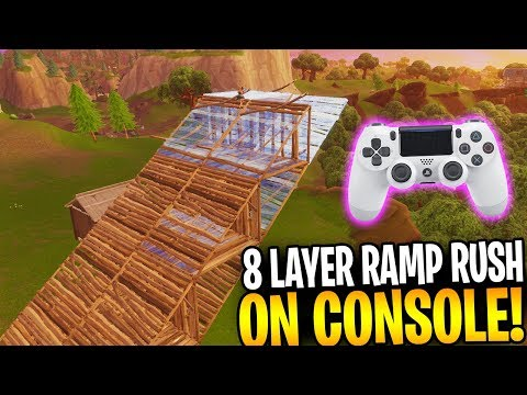 The 8 Layer Ramp Rush On Console