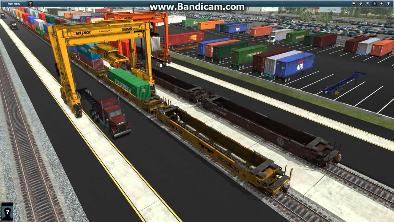 Trainz 12 JR American Intermodal Route 13 Truck Load Double