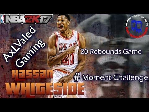 NBA 2K17 My Team Hassan Whiteside Moments Challenge.
