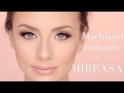 Machiajul Romantic De Mireasa Makeup Artist Ali Andreea Youtube