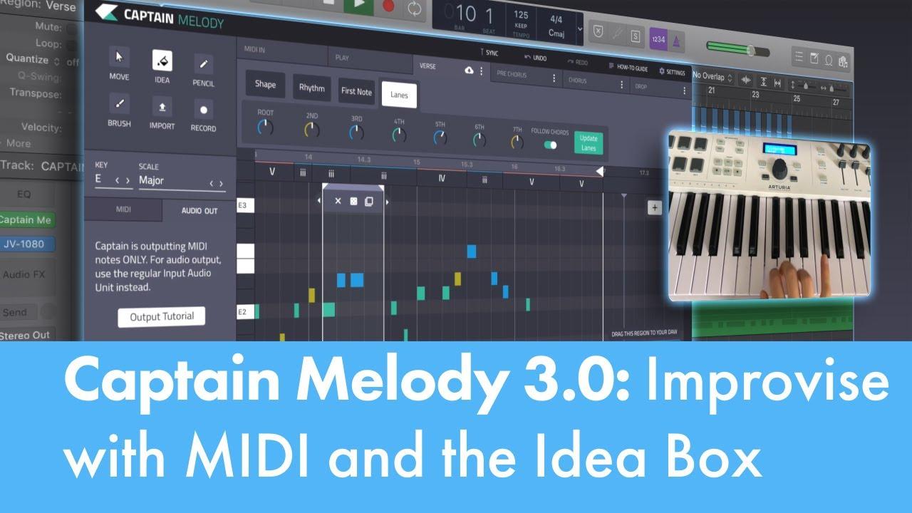 Captain Melody 3 0 - Mixed In Key