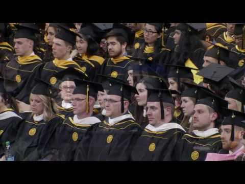 University of Iowa Graduate College Commencement - May 12, 2017 on YouTube