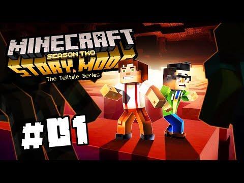 PAVOUČÍ CREEPER A HELLBOY | Minecraft Story Mode: Season 2 | #1 - Epizoda 3 | Pedro