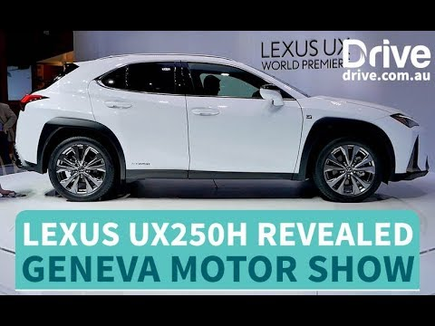 Lexus UX250h Revealed   Drive.com.au - Dauer: 48 Sekunden
