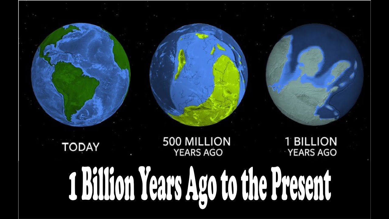 A new model of plate tectonic evolution from 1 Billion years ago to the present