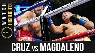 Cruz vs Magdaleno HIGHLIGHTS: October 31, 2020 | PBC on SHOWTIME PPV