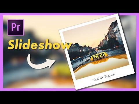 Polaroid Photo Slideshow Tutorial - Adobe Premiere Pro CC