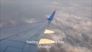 SunExpress Tripreport/Nuremberg-Antalya/B737-800