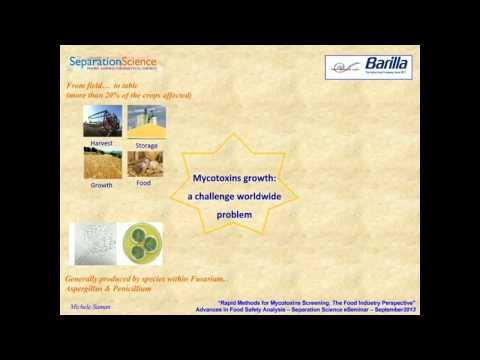 Rapid methods for Mycotoxins screening  The food industry perspective