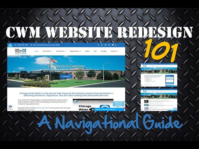 CWM Website Redesign 101: A Navigational Guide
