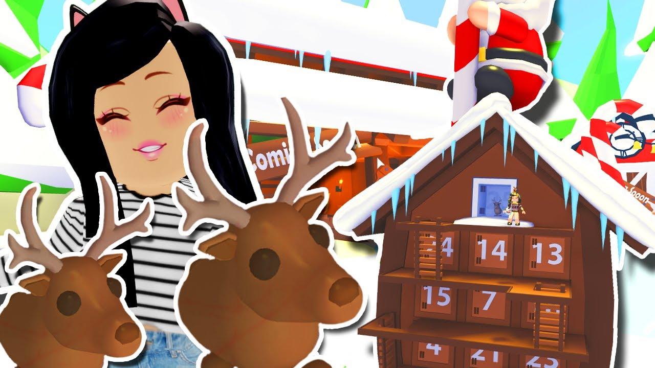 Custom Christmas Tree Tutorial Easy In Adopt Me Roblox Winter Build Hacks Furniture Youtube