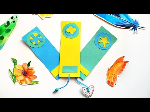 easy-diy-bookmarks-set---cute-paper-crafts-ideas-to-sell-\-5-minute-crafts