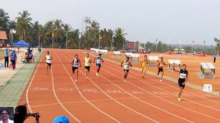 MEN'S 400M RUN FINAL. ALL INDIA INTER UNIVERSITY ATHLETICS CHAMPIONSHIPS.2014-15