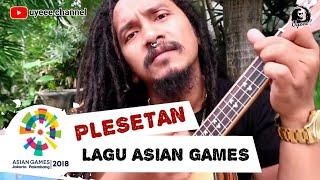Kreatif banget lagu ASIAN GAMES jadi gini MERAIH BINTANG - via vallen ( UKULELE ) by Dellu uyee